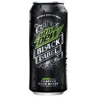 Pepsi 16 oz Mountain Dew Black Label from Blain's Farm and Fleet