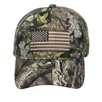 Outdoor Cap Camo Flag Logo Cap from Blain's Farm and Fleet