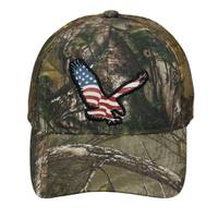 Outdoor Cap Cap-Eagle Americana Logo from Blain's Farm and Fleet