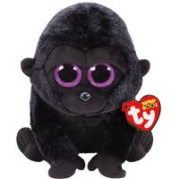 Ty Beanie Boo Med George the Black Gorilla from Blain's Farm and Fleet
