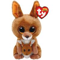Ty Beanie Boo Reg Kipper the Kangaroo from Blain's Farm and Fleet