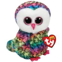 Ty Beanie Boo Medium Owen the Owl from Blain's Farm and Fleet