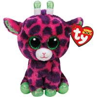 Ty Beanie Boo Reg Gilbert the Pink Giraffe from Blain's Farm and Fleet
