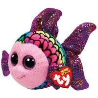 Ty Beanie Boo Reg Flippy the Multi Fish from Blain's Farm and Fleet
