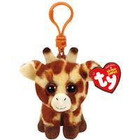 Ty Beanie Baby Clip Peaches the Giraffe from Blain's Farm and Fleet