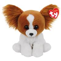 Ty Beanie Baby Med Barks the Brown Dog from Blain's Farm and Fleet