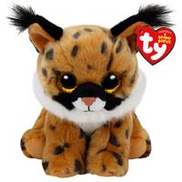 Ty Beanie Baby Reg Larry the Lynx from Blain's Farm and Fleet