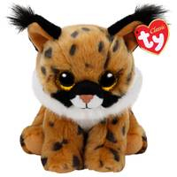 Ty Beanie Baby Med Larry the Lynx from Blain's Farm and Fleet