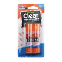 Elmer's Clear Repositionable Glue Sticks from Blain's Farm and Fleet