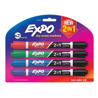 Expo Dry Erase Markers 4-Pack from Blain's Farm and Fleet