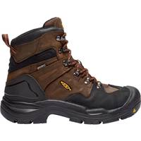 KEEN Utility Men's Cascade Brown Coburg Waterproof Boots from Blain's Farm and Fleet