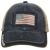 Outdoor Cap Men's Winchester USA Flag Meshback Cap from Blain's Farm and Fleet