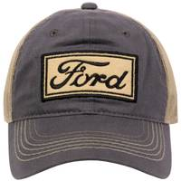 Outdoor Cap Men's Ford Logo 2-Tone Unstructured Cap from Blain's Farm and Fleet