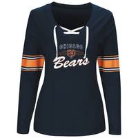 NFL Misses Chicago Bears Lace Up Top from Blain's Farm and Fleet