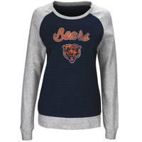 NFL Misses Chicago Bears Pullover Crew Sweatshirt from Blain's Farm and Fleet