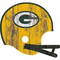 Fan Creations Green Bay Packers Sign Large Wood Helmet from Blain's Farm and Fleet
