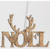 Caffco International Noel Antler Ornament from Blain's Farm and Fleet