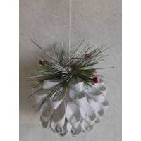 Caffco International Pinecone Ball Ornament from Blain's Farm and Fleet