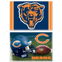 WinCraft Chicago Bears Magnet - 2 Pack from Blain's Farm and Fleet