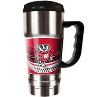 Great American Products Wisconsin Badgers Champ Travel Tumbler from Blain's Farm and Fleet