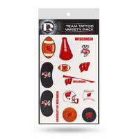 Rico Industries Wisconsin Badgers Tattoo Variety Pack from Blain's Farm and Fleet
