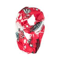 All Star Sports Wisconsin Badgers Silky Infinity Scarf from Blain's Farm and Fleet