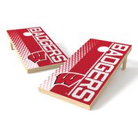 Wild Sports Wisconsin Badgers Authentic Cornhole Set from Blain's Farm and Fleet