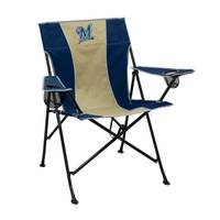 Logo Chairs Milwaukee Brewers Pregame Chair from Blain's Farm and Fleet
