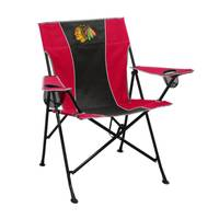 Logo Chairs Chicago Blackhawks Pregame Chair from Blain's Farm and Fleet