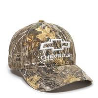 Outdoor Cap Men's Realtree Xtra Camo Chevy Logo Cap from Blain's Farm and Fleet