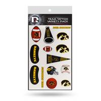 Rico Industries Iowa Hawkeyes Tattoo Variety Pack from Blain's Farm and Fleet