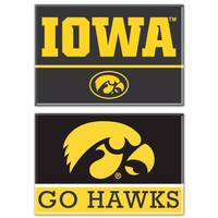 WinCraft Iowa Hawkeyes Magnets from Blain's Farm and Fleet