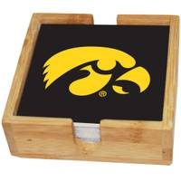 The Memory Company Iowa Hawkeyes Square Ceramic Coaster - 4 Pack from Blain's Farm and Fleet