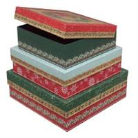 Mazel Company Square Box with Flip Cover Box #3 from Blain's Farm and Fleet