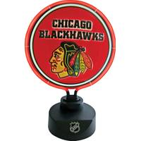 The Memory Company Chicago Blackhawks Team Lamp from Blain's Farm and Fleet