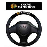 Fremont Chicago Blackhawks Steering Wheel Cover from Blain's Farm and Fleet