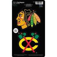 WinCraft Chicago Blackhawks Magnets -2 Pack from Blain's Farm and Fleet
