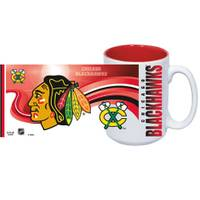The Memory Company Chicago Blackhawks Full Wrap Jumbo Mug from Blain's Farm and Fleet