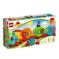 LEGO DUPLO Number Train 10847 from Blain's Farm and Fleet