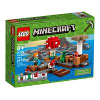 LEGO Minecraft The Mushroom Island 21129 from Blain's Farm and Fleet