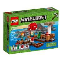LEGO Minecraft The Mushroom Island 21129 from Blain's Farm and Fleet