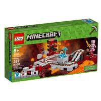LEGO Minecraft The Nether Railway 21130 from Blain's Farm and Fleet