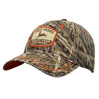 John Deere Men's Camouflage Twill Embroidered Patch Cap from Blain's Farm and Fleet