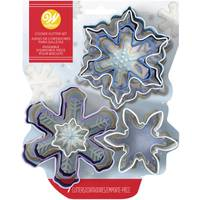 Wilton Metal Snowflakes Cookie Cutter Set from Blain's Farm and Fleet