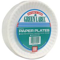 AJM Paper Plates from Blain's Farm and Fleet