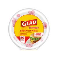 Glad Everyday Soak Proof Plates from Blain's Farm and Fleet