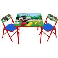 Jakks Pacific Mickey Mouse Activity Table & Chairs Set from Blain's Farm and Fleet