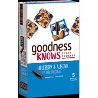 Goodness Knows Snack Squares from Blain's Farm and Fleet