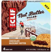 Clif Bar Chocolate Hazelnut Butter Nut Butter Filled Energy Bars - 4 Count from Blain's Farm and Fleet