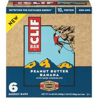 Clif Bar Peanut Butter Banana Energy Bars - 6 Count from Blain's Farm and Fleet